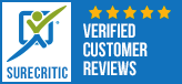 Surecritic -  Verified Customer Reviews